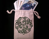 Celtic Hare Tarot Bag -  Pagan Wiccan  - Brigid Ashwood