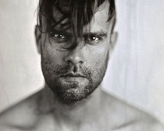 Bert McCracken of The Used. 8x10 print by Ryan Muirhead. Unsigned.