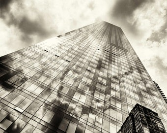 New York Photography - Skyscrapers, Manhattan, New York - 8x10 photo
