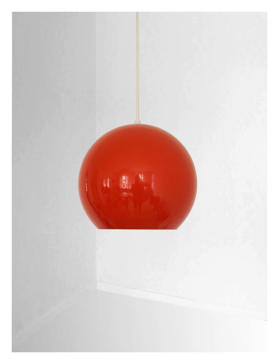 Verner Panton Original Vintage Topan Lamp