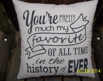You're pretty much my favorite hand stencil primitive pillow