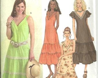 Butterick UNCUT sewing pattern B4793 / Dress / Sizes 8, 10, 12 & 14