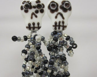 Dia de las muertas earrings