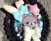Relax Bear Kawaii pendant. Relakuma pendant. Kawaii Pendant.