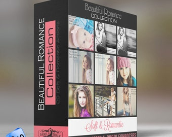 The Beautiful Romance Collection - 29 Photoshop  ELEMENTS Actions