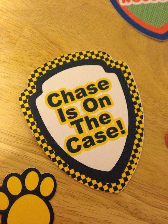 Paw Patrol Quot Sayings Quot Die Cuts Set From Addybugs On Etsy Studio