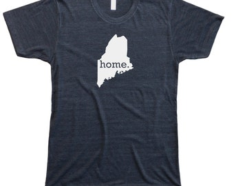 Homeland Tees Men's Maine Home T-Shirt