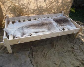 Viking slat frame for single bed osberg replica based design by rogann