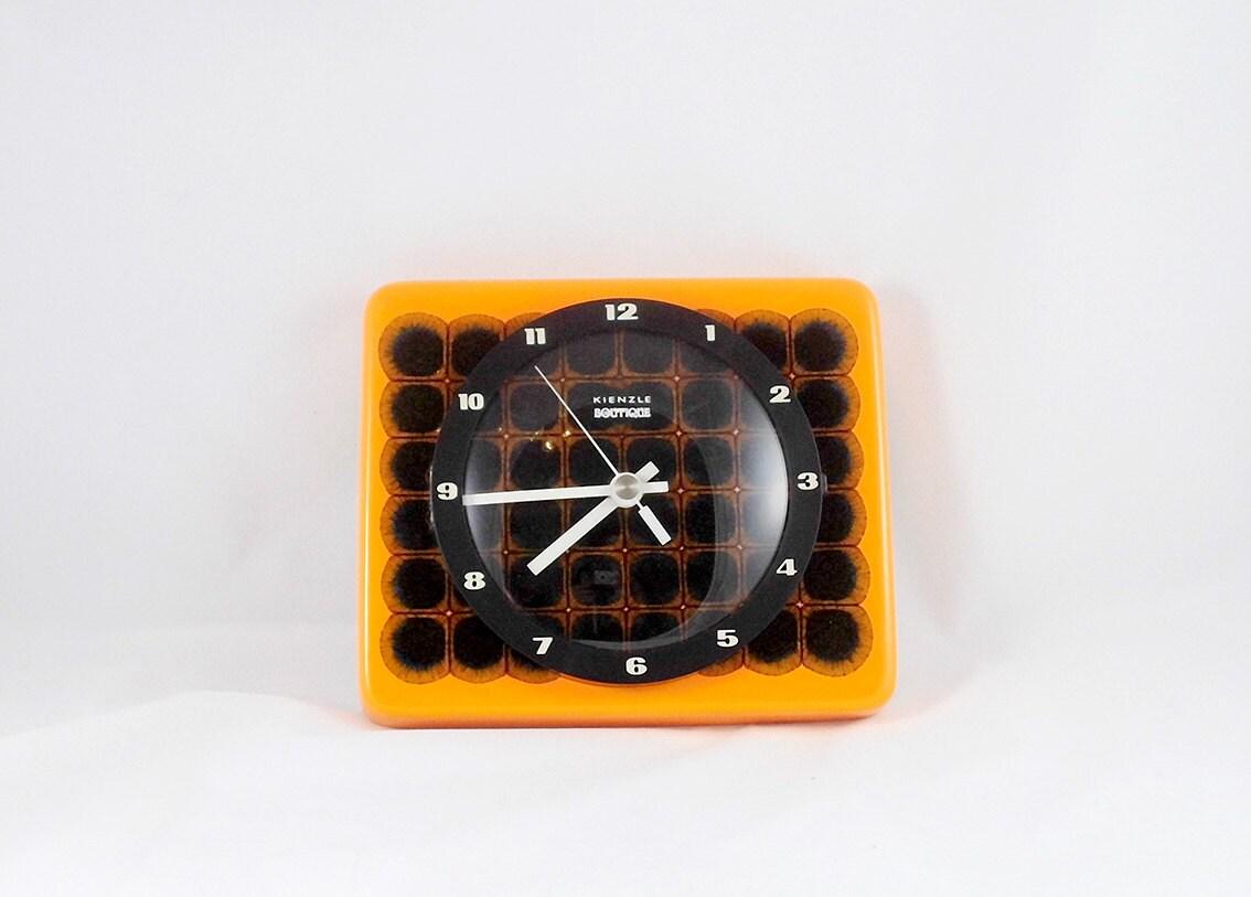 sale vintage german kitchen pottery wall clock kienzle