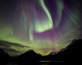 Northern lights beauty, Norway, Nature, Fine art, Affordable home decor