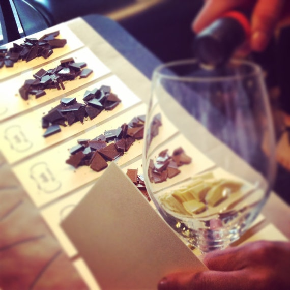 Sip & Savor: chocolate meets wine in an interactive, laid-back experience perfect for a group!