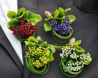 wedding boutonniere artificial flower