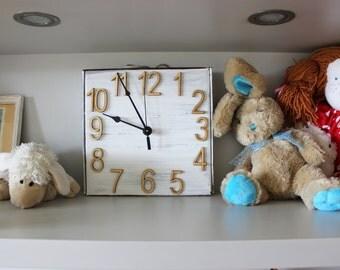 Wall Clock ePattern PDF, Wall Clock Pattern, Recycled Wall Clock