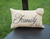 Family Decorative Pillow Decor Pillow Simple Pillow