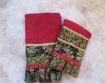 Festive Christmas Towel Set