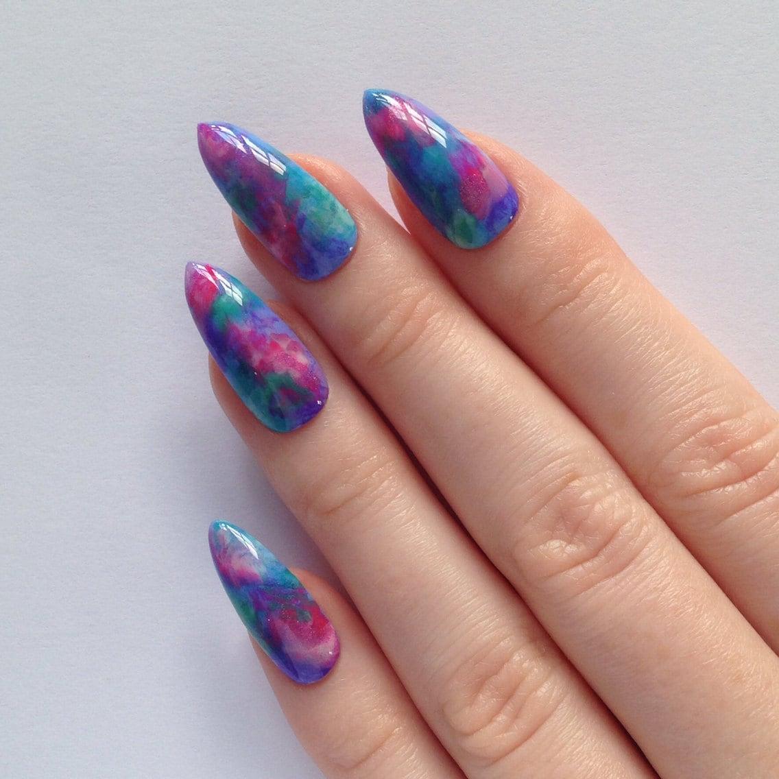Stiletto Nail Art: Pretty Stiletto Nails Nail Designs Nail Art By
