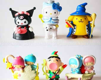 1 pcs / Decoration / Decoden / PVC / Cat / Kitten / Charms / Dog / Doggy / Pendant / Animal Miniature / 7-8cm / SR077