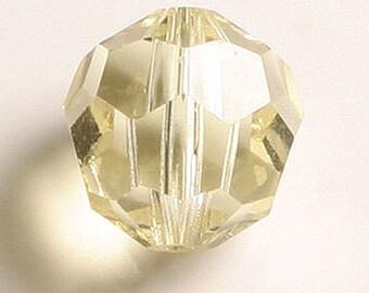 C109-[8321]-80pcs Swarovski Crystal 5000 8mm- Jonquil