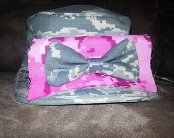 Air Force Camo Hair Bow