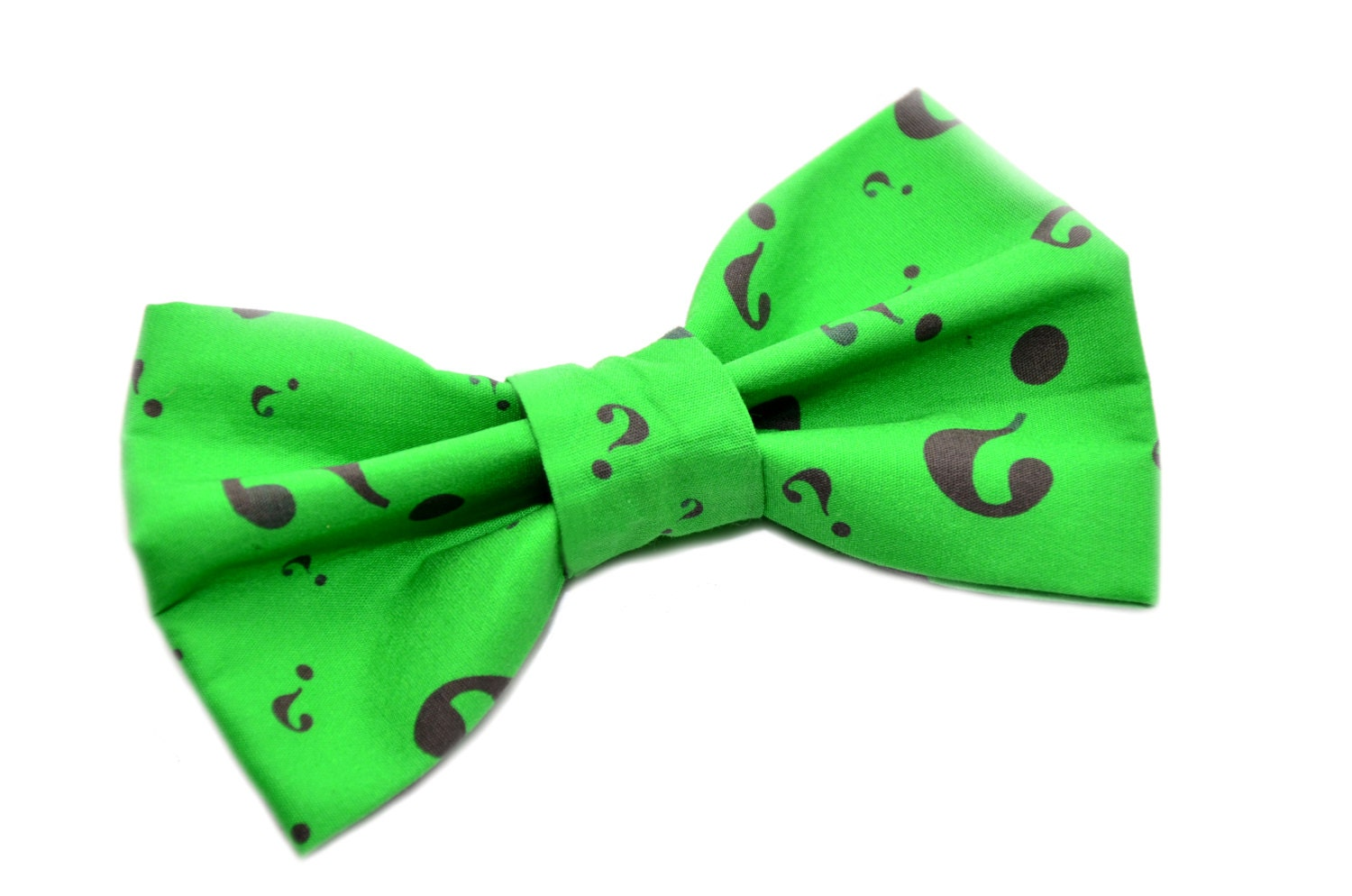 riddler novelty bow tie with adjustable