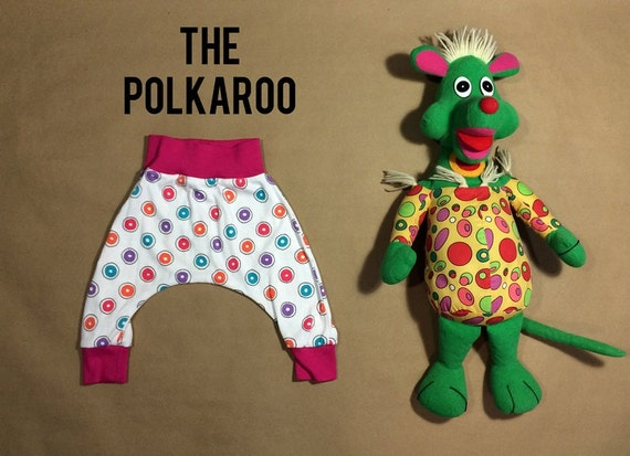 The Polkaroo- Mini Souls Harem Pants
