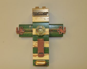 Antique Vintage Wooden Wall Cross