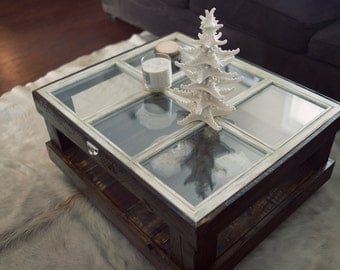 Window Coffee Table Etsy