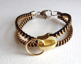Infini-T Zipper Bracelet