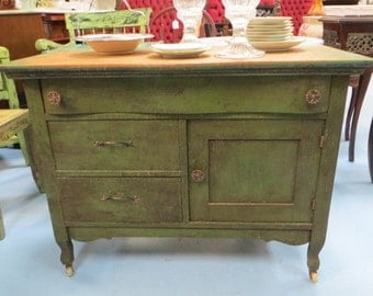 Rustic Country Style Credenza