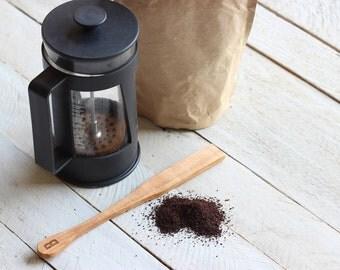 Custom Personalized Coffee Stir Stick - French Press Stir Stick Utensil