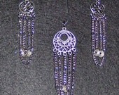 Earring Dangles and Necklace Charm