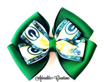 Green Bay Packers bow packers bow Green Bay bow sports bow NFL bow football bow
