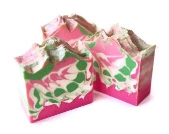 Cherry Blossom Luxury Artisan Cold process Soap