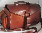 Leather Bag Artisans Hand Made Craftsmanship Saddle Fieldbag British Tan Brown X-Body UNISEX