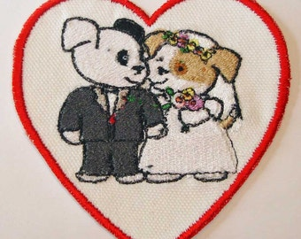 Iron-On Patch - WEDDING DOGS