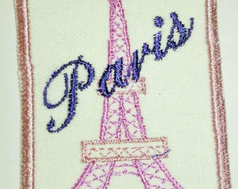 Iron-On Patch - PARIS