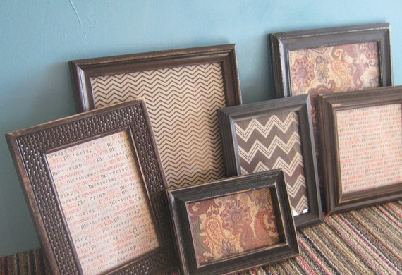 Gallery Wall Thanksgiving Collection Holiday Themed Wall Hanging Picture Frames Collection of Frames