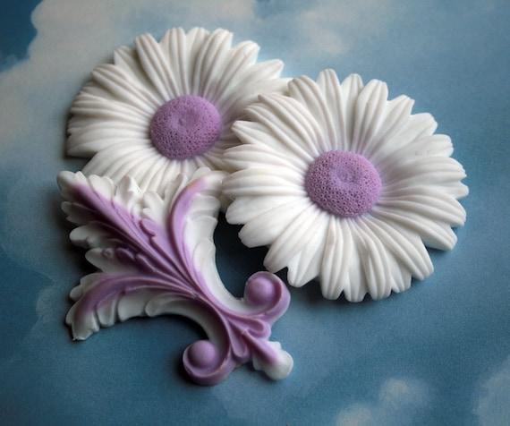 Daisy Guest Soap Set Lavender