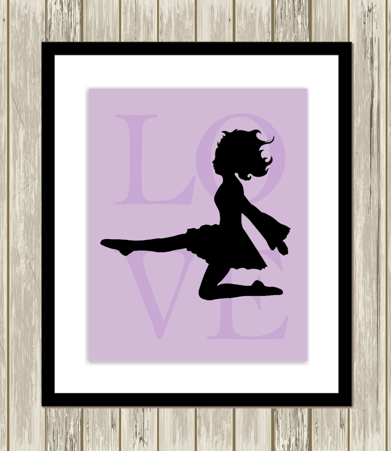 Irish dance wall art little girls room decor nursery art for Girls room wall decor
