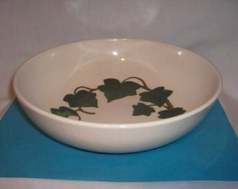 CALIFORNIA IVY Serving BOWL Poppytrail Metlox