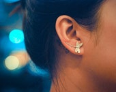 Dragonfly Sterling Silver Ear Cuffs