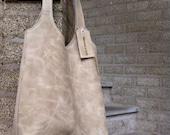 Handmade leather hobo, shoulderbag, everyday bag