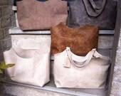 Handmade leather hobo, shoulderbag, everyday bag, handbag
