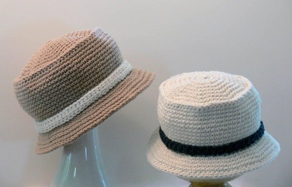 Boys Sun Hat Boys Bucket Hat Crochet Pattern by ...