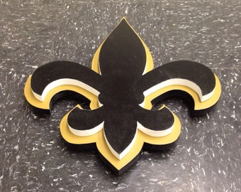 Saints 3D Wooden Logo