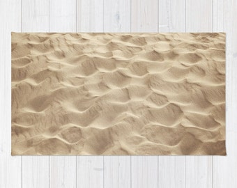 Rug  - Sand Dunes - photography photo beige nature summer beach abstract
