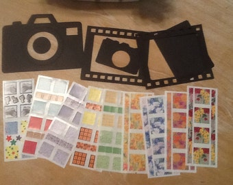 Creative Memories Camera Stickers and Die Cuts 010