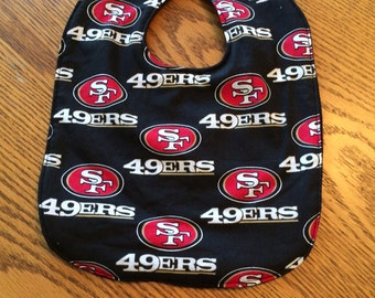 49ers NFL bib
