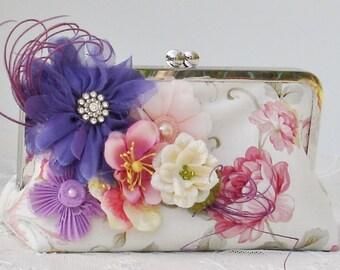 Mother of the Bride / Vintage Wedding / Garden Party /Farmhouse Wedding / Bride / Bridesmaid CHandbag / Bridesmaid Gift