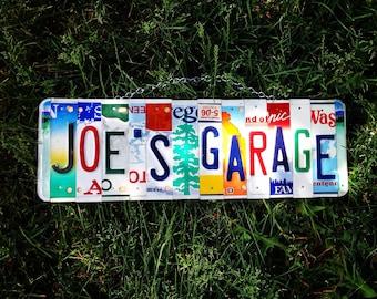 Etsy acheter vendre et vivre handmade - Garage plaque immatriculation ...